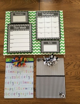 Primary Dots Monster Organization Station