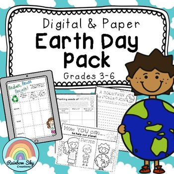 Primary EARTH DAY Pack - Years 3 - 6