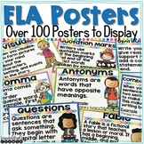 Reading and Language Arts Posters
