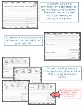 Primary ELA Writing Journal