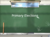 Primary Elections Lesson
