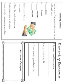 Primary Elementary Economics Packet