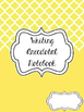 Primary Grades Writing Anecdotal Notebook