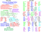 """Primary English Folders11"""" x 17"""" (Comes in two sided sets of 25)"""