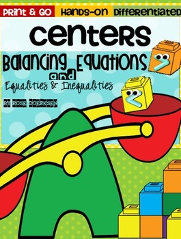 Primary Equations {Center Activities}