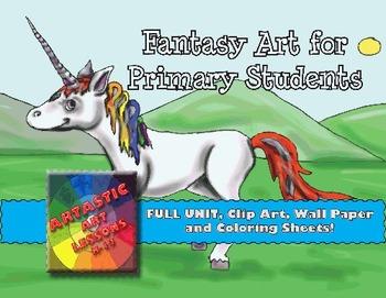 Primary Fantasy Art Lessons
