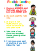 Primary  Flexible Seating Rules Poster!