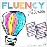 Primary Fluency Phrases -Cards and Tracking System