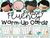 Primary Fluency Warm-Up Cards