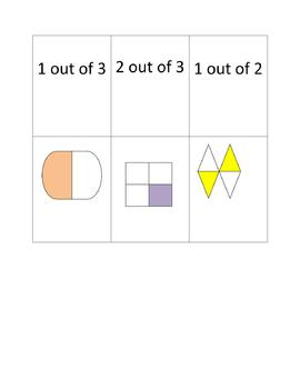 Primary Fraction Concentration Cards