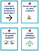 French Primary Writing Prompts: 100 Question Cards for Dis