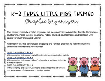 Primary-Friendly Graphic Organizers!
