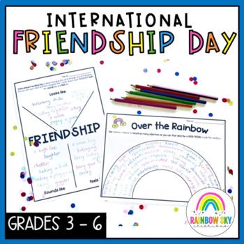 Primary Friendship Activity Pack - International Friendship Day