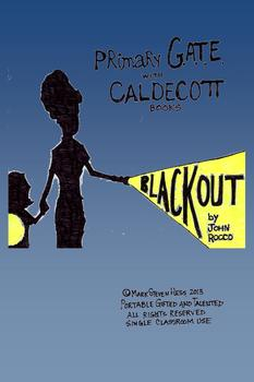 Primary GATE with Caldecott - BLACKOUT by John Rocco