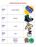 Primary- Getting Ready Routine for the Winter Outdoor Recess