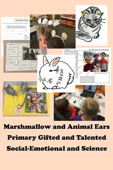 Primary Gifted and Talented Social Emotional MARSHMALLOW Respecting Differences