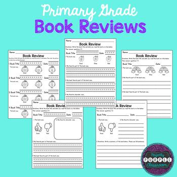 Primary Grade Book Reviews