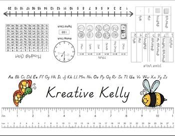 Primary Grade Level Name Tag