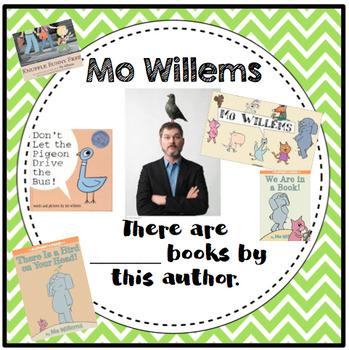 Primary Grades Author Study Posters