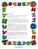 Primary Grades Back-to-School Parent Letter