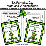 Primary Grades Bundle - Kindergarten Math & Creative Writi