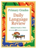 1st Grade Common Core Daily Language Review, Skills Pack #2 *40 days*