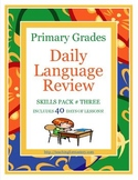 1st Grade Common Core Daily Language Review, Skills Pack #3 *40 days*