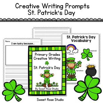 Primary Grades Creative Writing Prompts - St. Patrick's Day