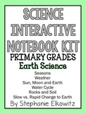 Earth Science Interactive Notebook Foldables (K-2)
