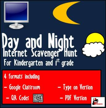 Internet Scavenger Hunt - Primary Grades - Day and Night