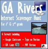 Internet Scavenger Hunt - Primary Grades - Rivers of Georgia
