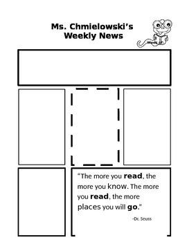 Primary Grades Newsletter
