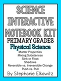 Physical Science Interactive Notebook Foldables (K-2)