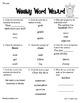 Primary Grades Weekly Word Work {Yearlong Bundle}