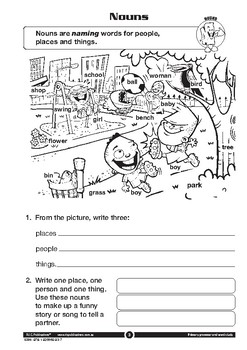 Primary Grammar and Word Study – Ages 5-6
