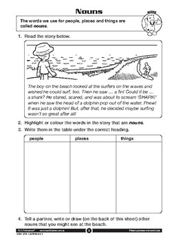 Primary Grammar and Word Study – Ages 6-7