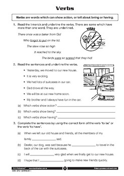 Primary Grammar and Word Study – Ages 7-8