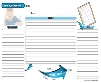 Primary  Writing Planners (Narrative and Nonfiction)