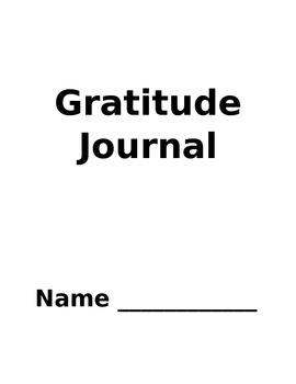 Primary Gratitude Journal