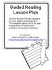 Guided Reading Lesson Plan Template *Common Core Area