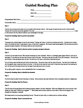 Primary Guided Reading Plan