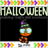 Primary Halloween Crafts Bundle - Halloween and Fall Book