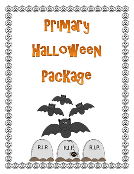 Primary Halloween  - L.A. and Math