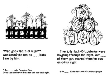 Primary Halloween Math