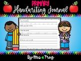 Morning Work Primary Handwriting Journal