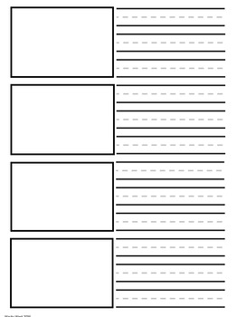 Primary Handwriting Pages Pack