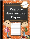 Primary Handwriting Paper - Portrait