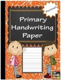 Primary Handwriting Paper - Portrait