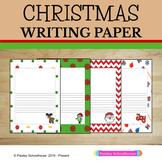 Primary Writing Paper: Christmas Theme