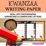 Primary Writing Paper: Kwanzaa Theme